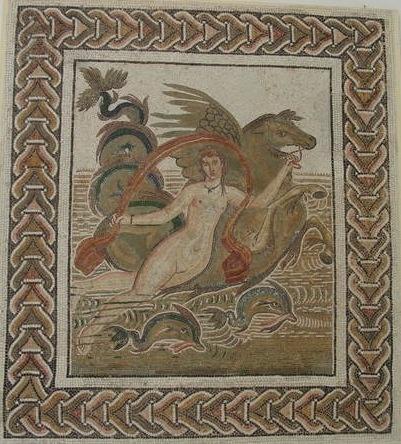 Nereida museo del mosaico el jem tunez mosaico romano for Mosaico romano