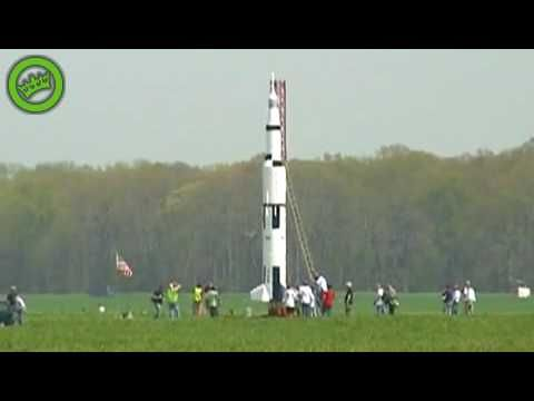Launching a homemade rocket. Are you kidding, now that's a fun family.