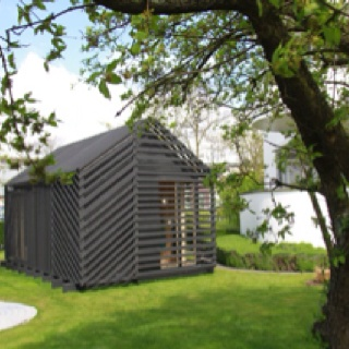 The Barn by Studio Skujeniece.    Imagine... a studio like this in my backyard.      Photography: Monique L. Anker