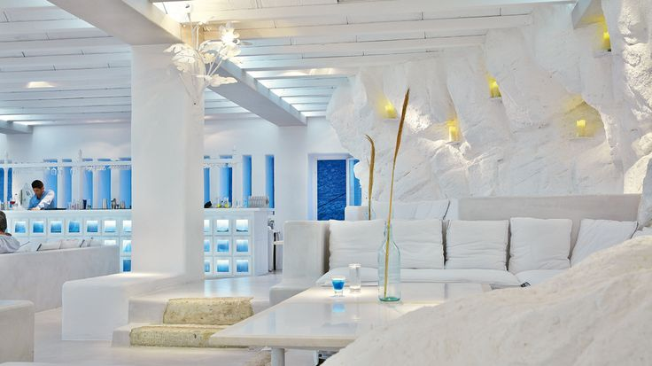 Delos Lounge for after-dinner Drinks | Mykonos Blu Luxury Resort