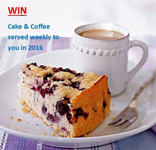 Win Cake & Coffee on facebook just click link