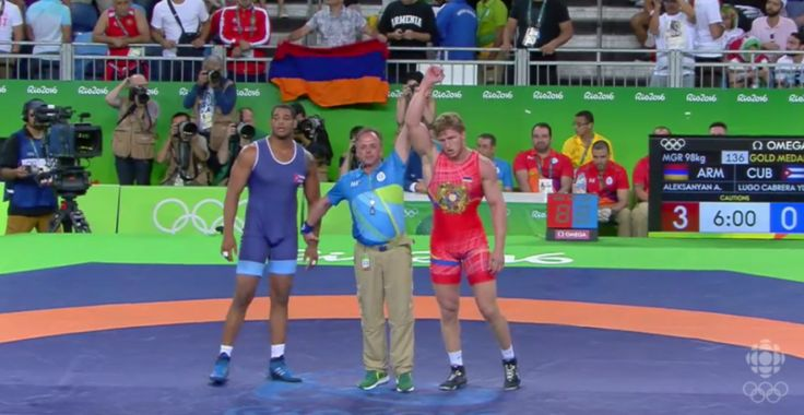RIO DE JANEIRO, Brazil (A.W.)—Artur Aleksanyan won Armenia's first gold medal at the 2016 Olympic Games in Rio de Janeiro, Brazil, after defeating Yasmany Daniel Lugo Cabrera of Cuba in the Greco-Roman Wrestling 98 kg final on Aug.16. Aleksanyan, the two-time reigning world champion, won back-to-back matches by technical fall in the quarterfinals and semifinals.…