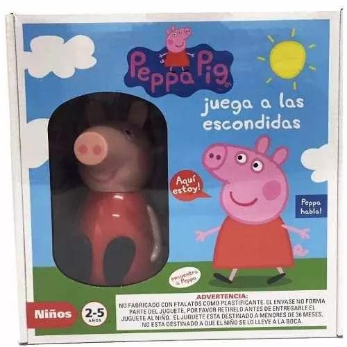 Peppa Pig Juega A Las Escondidas Bunny Toys - $ 529,99