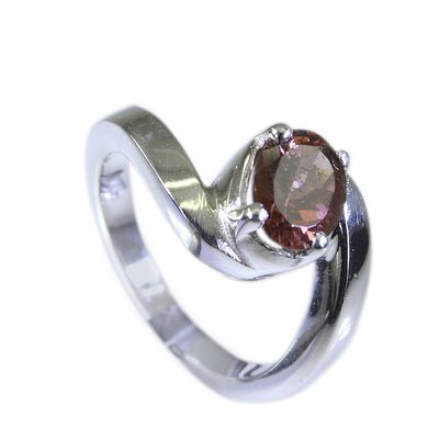 Riyo Tourmaline Argent Silver Jewellery Ecclesiastical Ring Sz 6.5 Srtou6.5 84060 Rings on Shimply.com