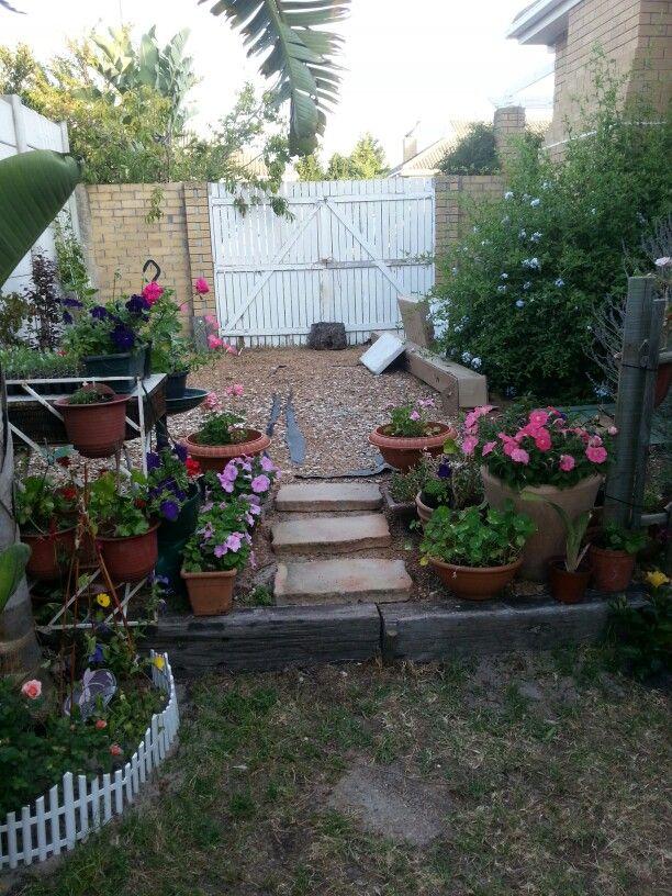 Mediterranean backyard