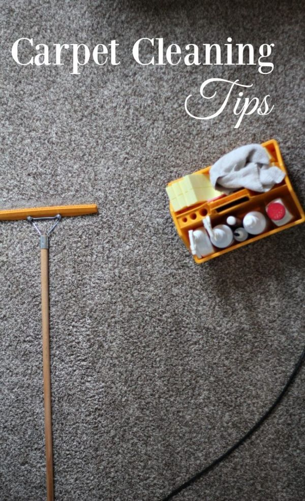 Carpet Cleaning Tips Cleaning