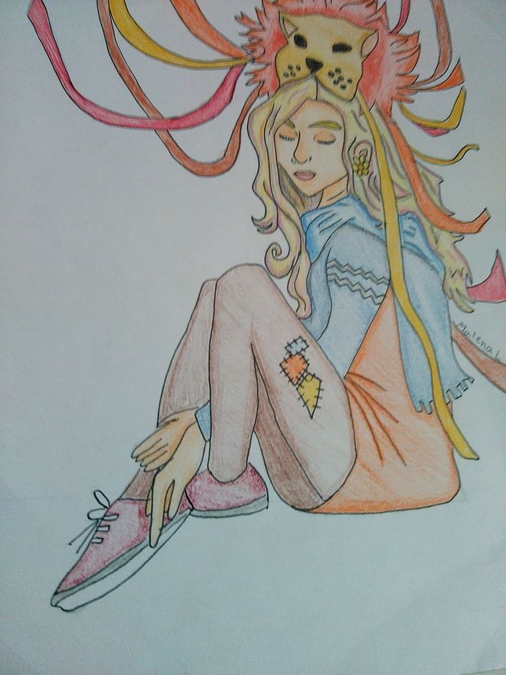 30 day drawing challenge | favorite movie character, Luna Lovegood