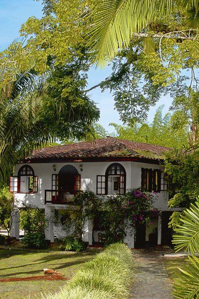 Fachada casa hacienda hotel san jose favorite places - Planos de casas americanas ...