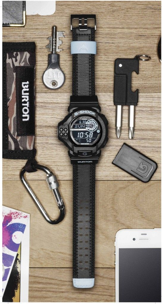 burton x casio g-shock