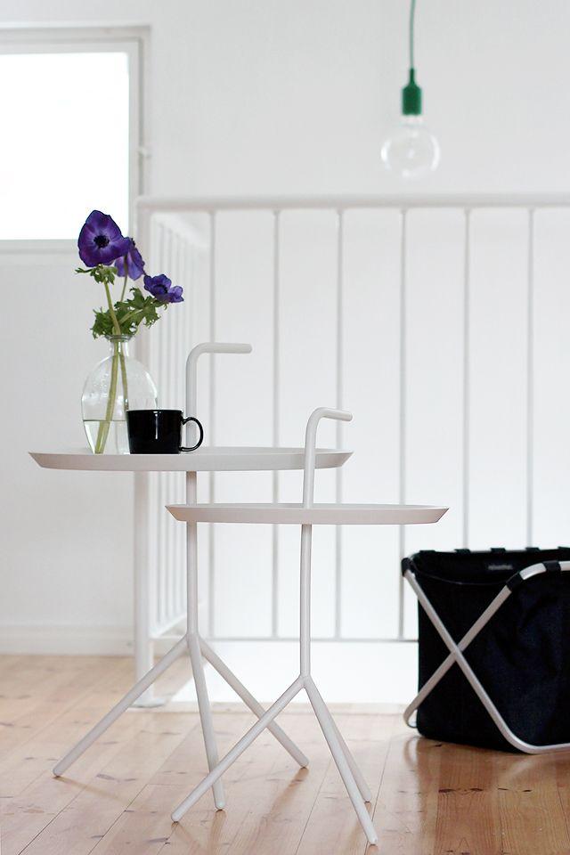 Via Pihkala | White | Hallway | Hay DLM Table | Muuto Lamp