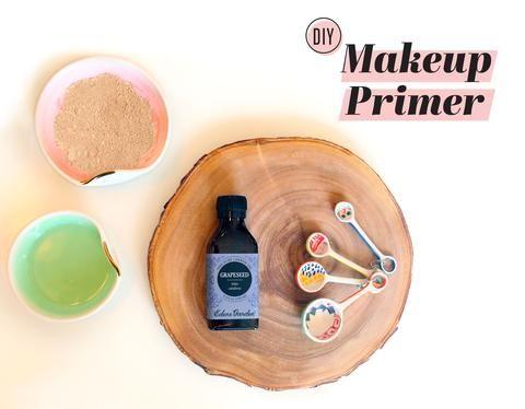 Grapeseed Makeup Primer DIY