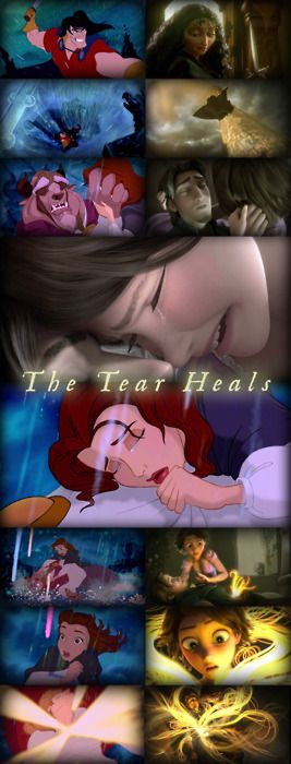 Disney sometimes cheats...: Disney Tangled, Favorite Princesses, Disney Magic, Disney Film, Favorite Disney, Disney Princesses, Best Disney Movie, Favorite Movie, Tear Healing