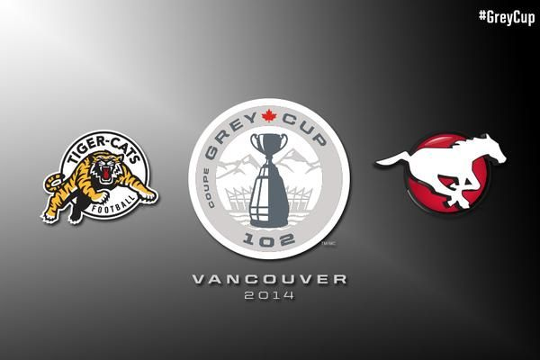 Cal Stampeders vs. Ti cats in the 102nd Grey Cup! GO STAMPEDERS!!!!!