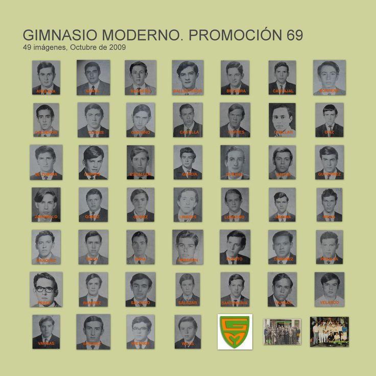 GIMNASIO MODERNO CLASE DEL 69