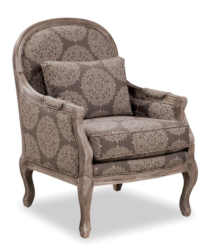 Traditional Living Room Chairs: Accent Chairs Traditional Chair With Cabriole Legs And