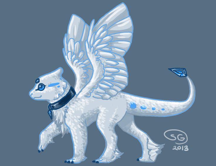 baby_ice_dragon | my art ideas | Pinterest