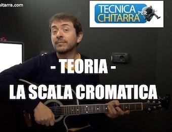Lezioni di chitarra: Teoria, scala cromatica   Tecnicaperchitarra.com