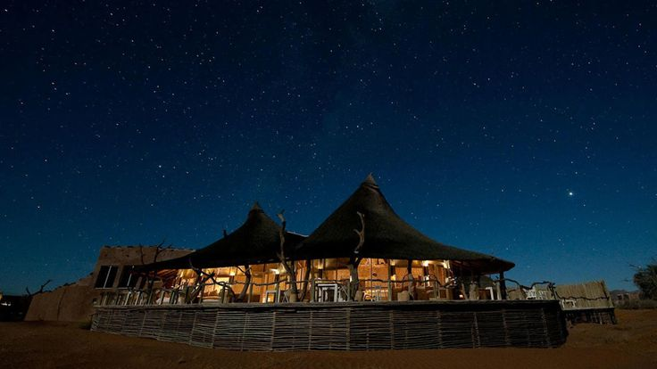 Enjoy 2 nights at the premium Sossusvlei camp, Little Kulala on our 10 Day Luxury Namibia Safari #luxurytravel #namibia #sossusvlei