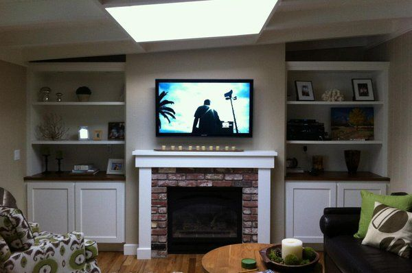 17 Best Ideas About Above Tv Decor On Pinterest Small