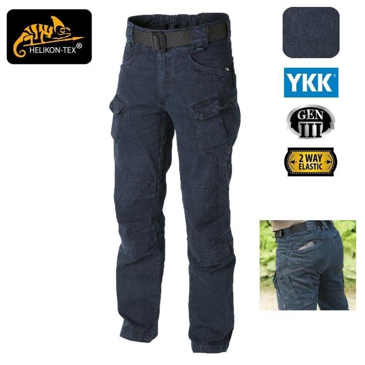 Helikon Urban Tactical Jeans Denim Blue pantalone
