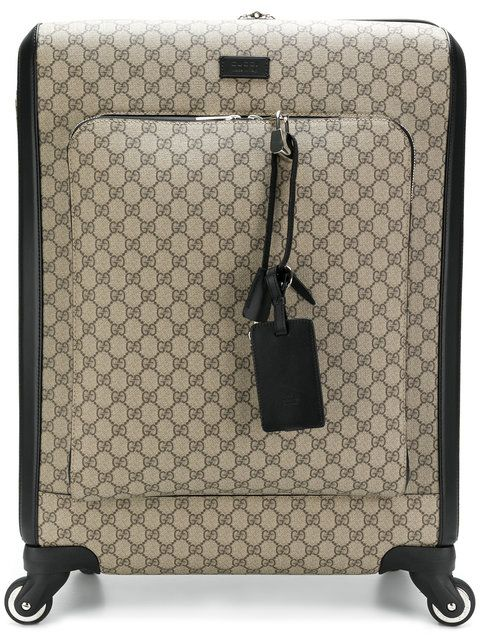 e9582f81378c GUCCI GG Supreme carry-on case. #gucci #bags #leather #travel bags #weekend  #