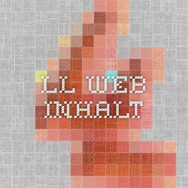 LL-Web - INHALT