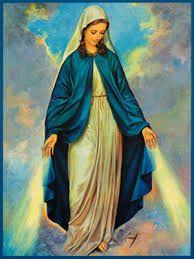 Znalezione obrazy dla zapytania matka boża niepokalana