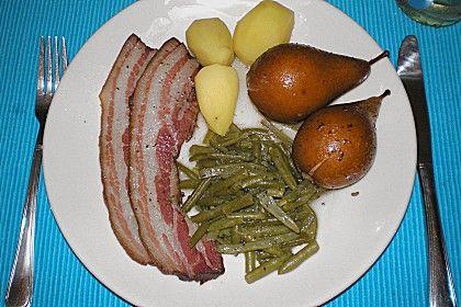 Bohnen, Birnen und Speck - Eintopf nach Omas Rezept 3
