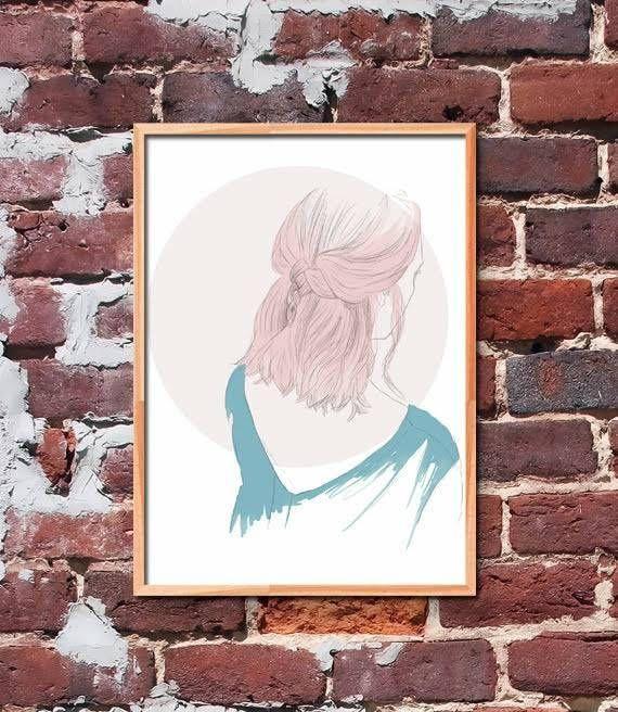 Girl Illustration by gendots