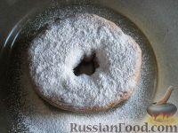 Фото к рецепту: Пончики сдобные жареные