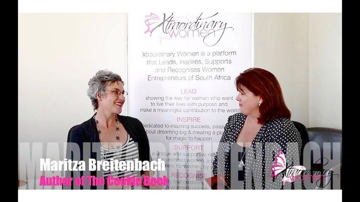 "Xtraordinary Women interviews Maritza Breitenbach, Author of ""The Cookie..."