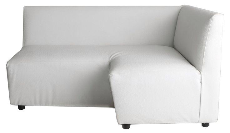 corner couch right white