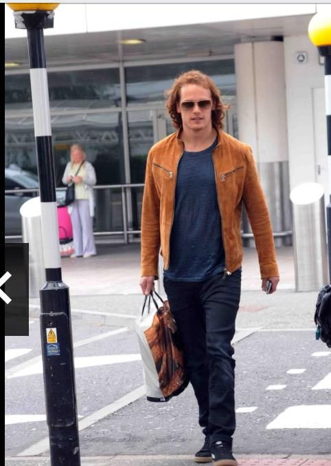 Sam At Glasgow Airport back from Monte Carlo!