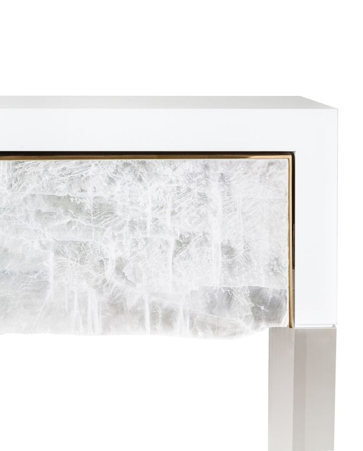 Imogene Rock Crystal Console - Art Deco Contemporary Mid-Century / Modern Traditional Console Tables - Dering Hall