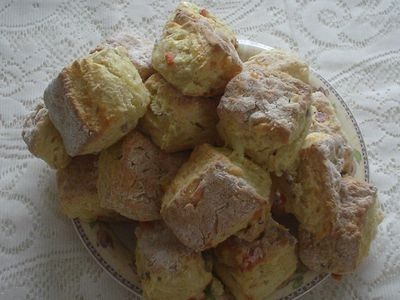 Pull-Apart Cheese and Onion Scones recipe