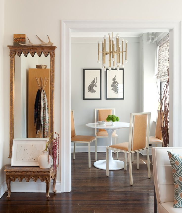 Cozy Vintage Manhattan Apartment Decor Modern Ideas Architecture Design Interior Room Home