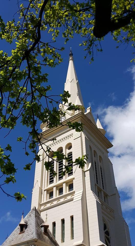 Toringkerk in Paarl se toring - so mooi!