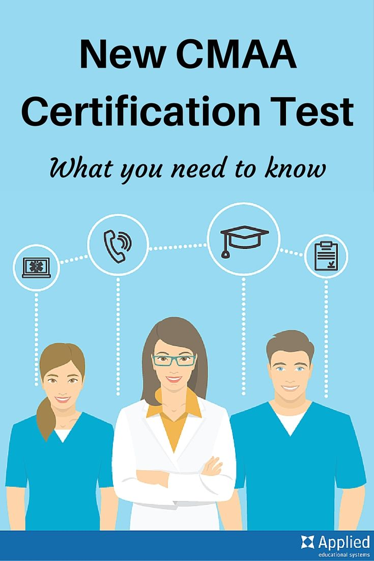 Best 25 medical assistant certification test ideas on pinterest new cmaa certification test what you need to know 1betcityfo Gallery