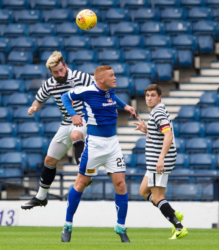 Queen's Park's Bryan Wharton in action during the SPFL League One game between Queen's Park and Stranraer.