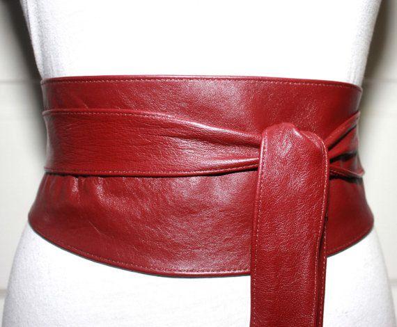I love an obi belt. Obi belts are fun. . .