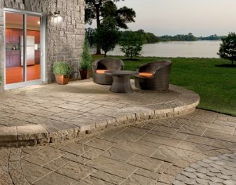 Les 25 meilleures id es concernant tache sur un patio en b ton sur pinterest - Faire une terrasse carrelee ...