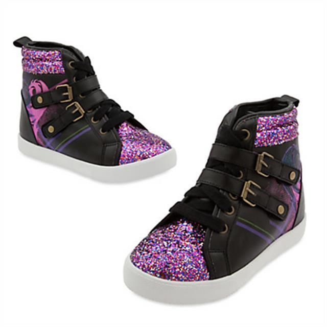 Disney Descendants Faux leather Wedge Sneakers for Girls -Size 1 - New with Tags #DisneyDescendants #Sneakers