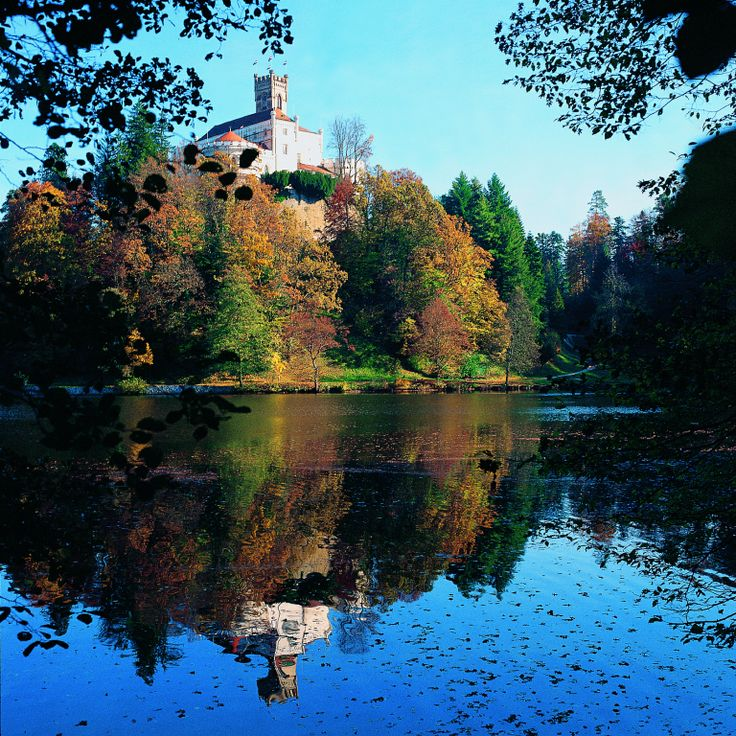 Trakoščan - nejkrásnější Chorvatský zámek