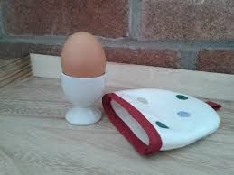 Image result for Fabric egg cosy