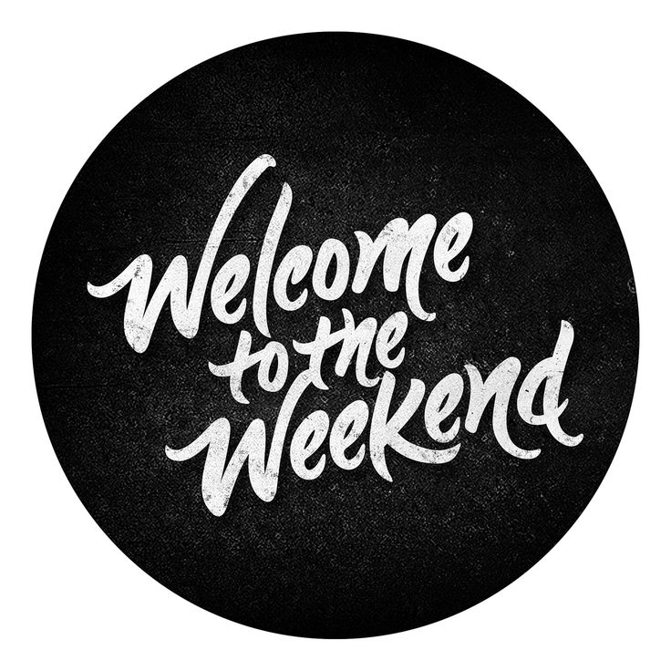 Welcome to the Weekend on Behance