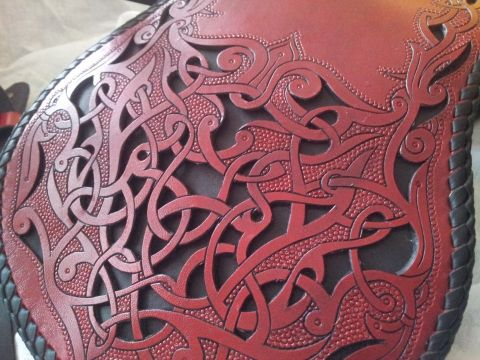 steixner - leather carving and cutout