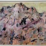 Elisabeth Cummings - Arkaroola View - Gouche on paper 37x56cm - $3800