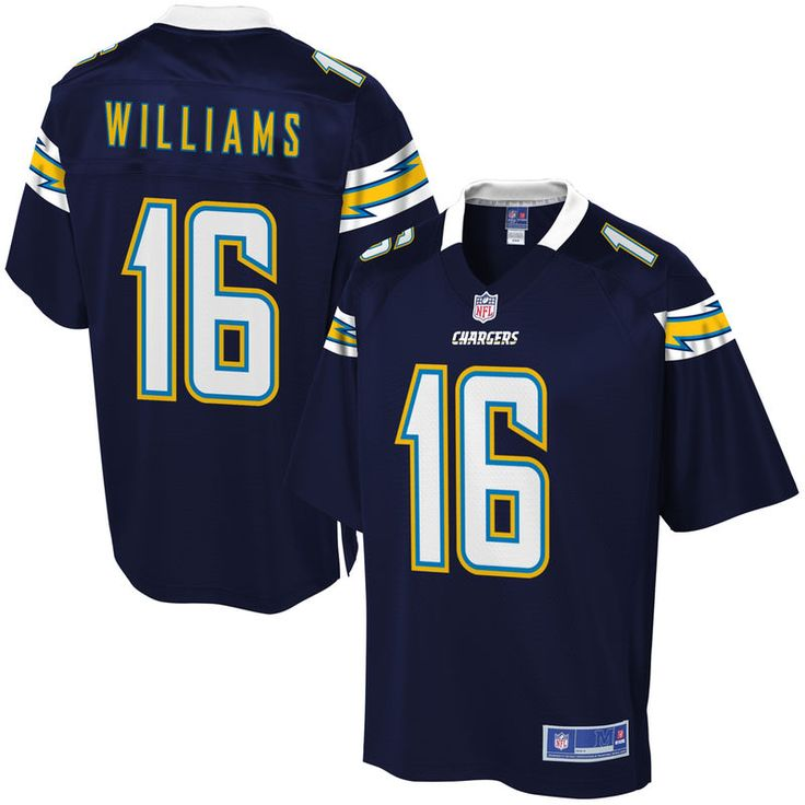 Men's Los Angeles Chargers Tyrell Williams NFL Pro Line Team Color Jersey