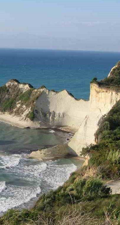 Kaap Drastis op het Griekse eiland Corfu. Een must visit tijdens je roadtrip.