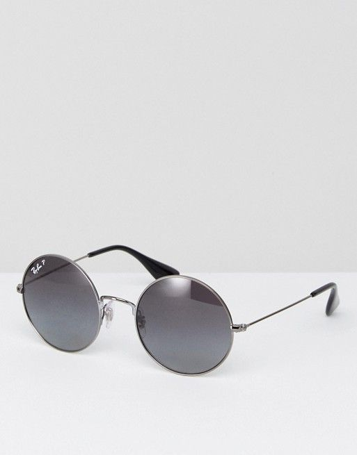 abff36d597 Ray-Ban - Round Jajo Sunglasses with Polarised Lens 0RB3592 -  198.00